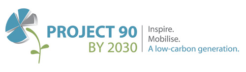 Project 90 By 2030 Retina Logo